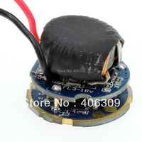 1piece 7 LED Series 6-12V 3-Mode For Double Lithium battery LED Driver With Low Voltage Protection