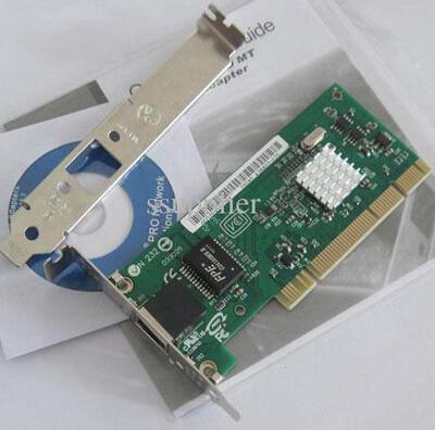 2 in 1 low profile + normal bracket 10/100/1000 MT Gigabit Desktop server PCI NETWORK NIC lan CARD adapter New(China (Mainland))