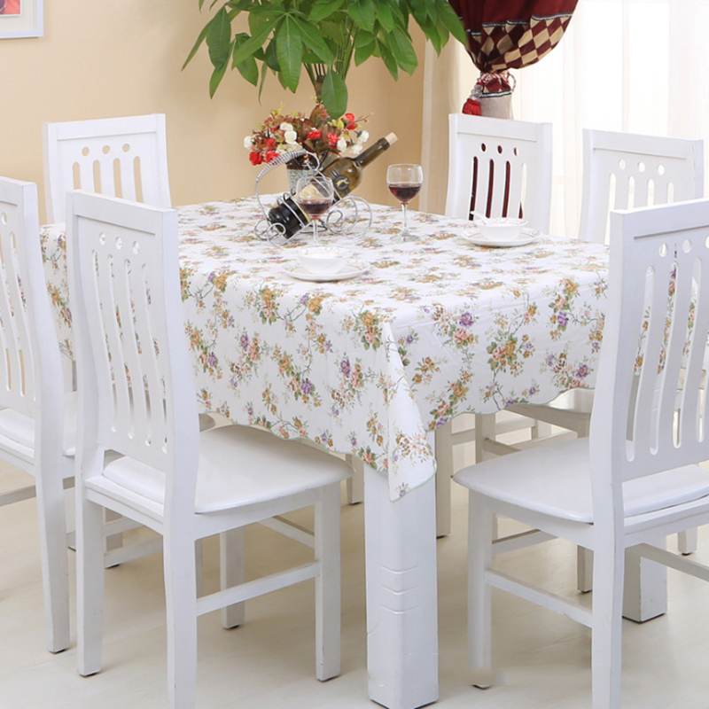 Variety Styles PVC Table Cloth Plastic Waterproof Oilproof Dining Tablecloth No-clean Printed Table Cover Manteles(China (Mainland))