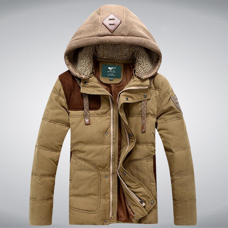 Теплая мужская куртка фото