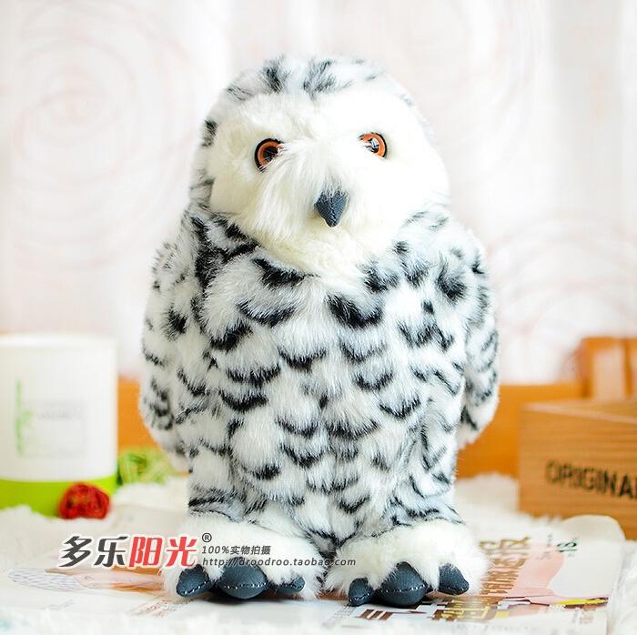 Snowy Owl  Head Joint  White Owl  Doll  Plush Toys  Simulation Animals(China (Mainland))