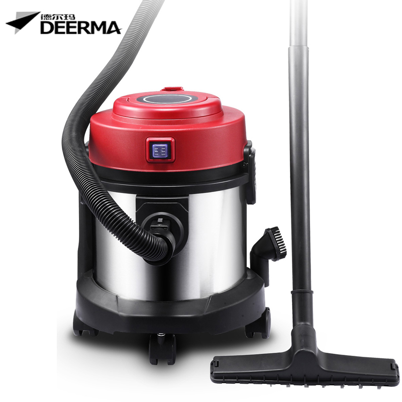 Household Ultra-quiet Vacuum cleaner Drum Wet and dry High capacity Strong suction brush cleaner(China (Mainland))