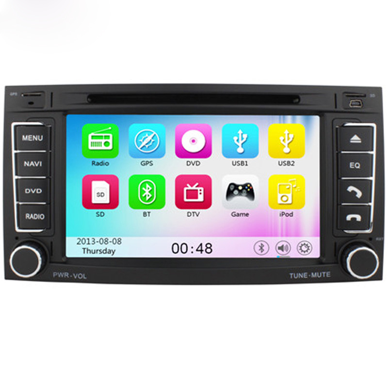 Free Shipping GPS Wince 6.0 Car DVD Player for VW TOUAREG 2004-2011 T5 Multivan 2009 Transporter 2009 With Auto Navigation BT(China (Mainland))