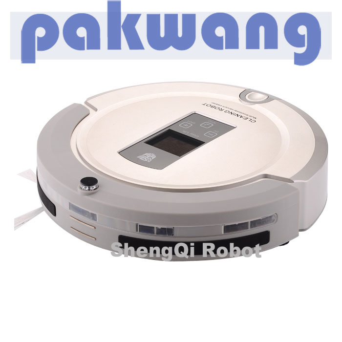 Multifunctional A325 remote control robotic vacuum cleaner Good robot portable vacuum cleaner(China (Mainland))