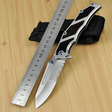 Brand new microtech hunting knife camping knives karambit survival folding knife D-2 blade tactical knife no spyderco