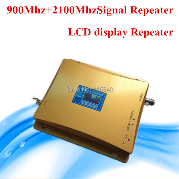 2G 3G Repeater Dual Band Mobile Phone Signal Booster GSM 3G Amplifier Extender Cellphone Booster(China (Mainland))