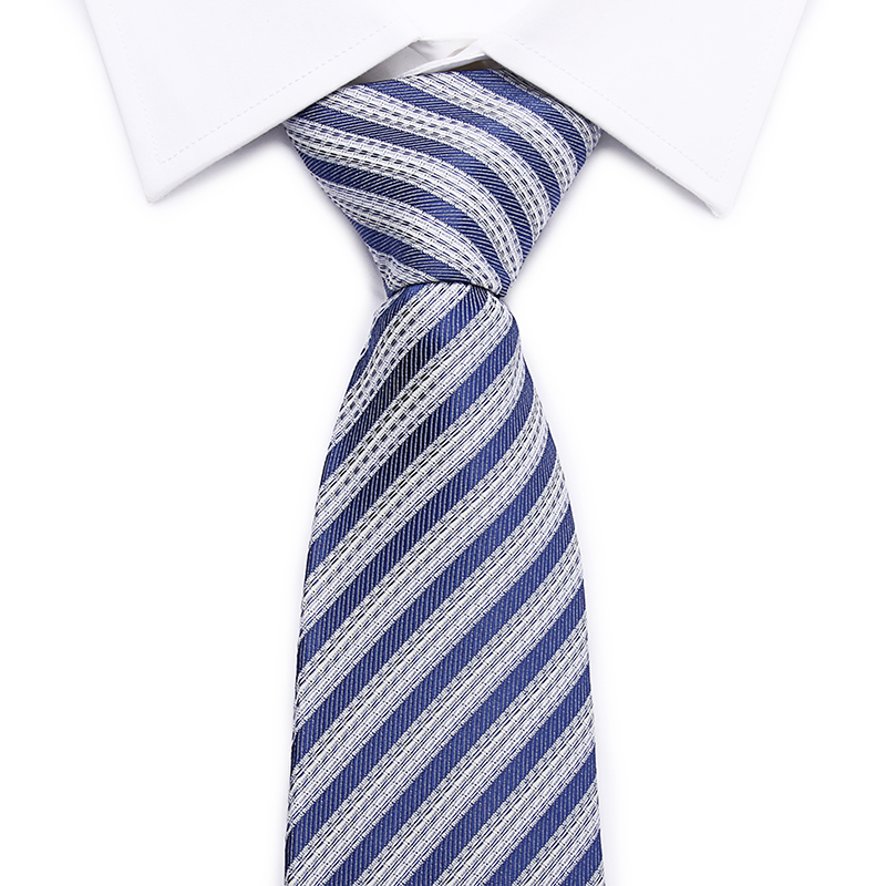 High Quality 8CM Skinny Cotton Plaid & Rainbow Striped Ties for Men Wedding Business Necktie Fresh Colorful Neck Tie Neckwear(China (Mainland))
