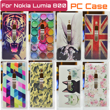 New Ultra-thin cell phone case for nokia lumia 800 back cover Free Shipping(China (Mainland))