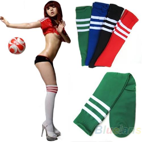 HOT Soccer Baseball Football Basketball Sport Over Knee Ankle Men Women Socks 02XU 45ID