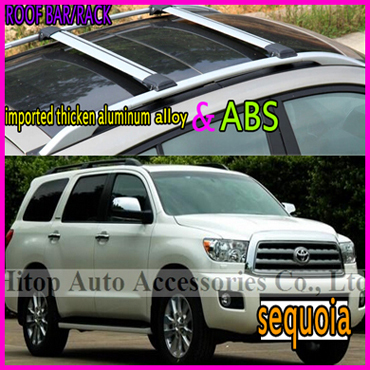 S Hybrid,2008,Suburban,Patrol,QUEST,SKODA,Taigun,sequoia roof rack /roof bar/roof rail,high quality aluminum alloy,free shipping(China (Mainland))