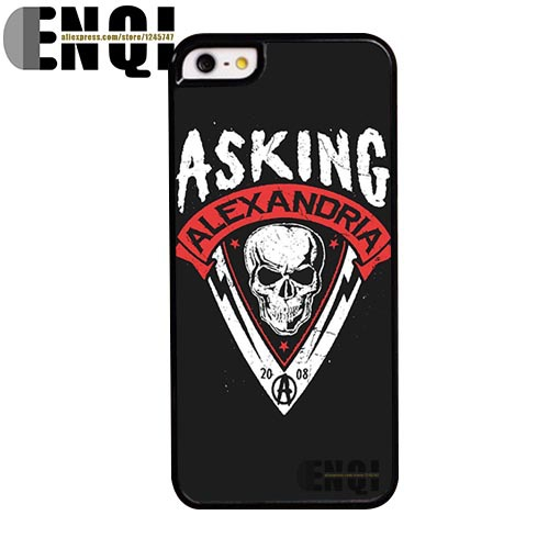 2015 Popular asking alexandria pattern DIY Professionals Manufacture Plastic Mobile Phone Bags cover cases for iphone 5s(China (Mainland))