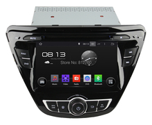 HD Capacitive Touch screen Car Android 4.4 DVD For Hyundai Elantra 2014 Support 1024*600 DVR OBD 3G Multimedia Built in WiFi(China (Mainland))