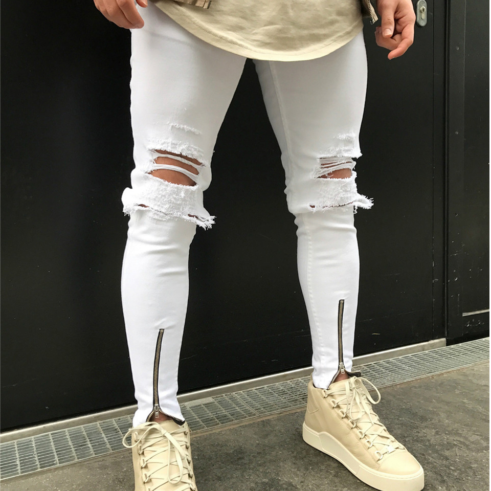 Popular Skinny Jeans Ankle Zipper-Buy Cheap Skinny Jeans Ankle ...