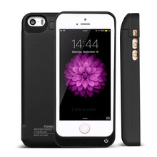 4200mAh Case Charging for iphone 5 5s 5c SE External Rechargeable Battery Charger Case Power Bank Cover for iphone 5 5s 5c SE(China (Mainland))