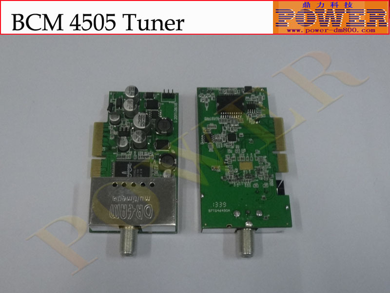 Good quality DVB-S2 BCM 4505 Tuner,which can be used for 800se satellite reciever(Hong Kong)