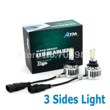 Buy 3 COB All-in-One Car Headlights 9006 LED H8/H9/H11 HB3/9005 Bulb Auto Front hb4 Bulb 72W 6600lm Automobiles Headlamp 6500K/3000K for $29.99 in AliExpress store
