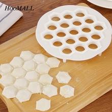 Hoomall Manual Dumplings Making Machine Rapid Dough Press Dumpling Making Mold Kitchen Gadgets DIY Tools Household 19 Holes 20cm(China (Mainland))