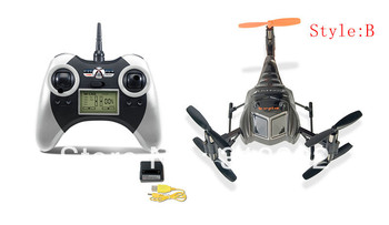 New arrival cheapest 4CH 2.4G RC RTF UFO six axis gyros Gyro Ladybird Quadcopter RC ready to go Helicopter free hipping