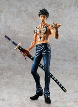 Anime One PieceTrafalgar Law Operation Fruit 24CM POP Tattoo Version PVC Action Figure Toy Collection Model Gift