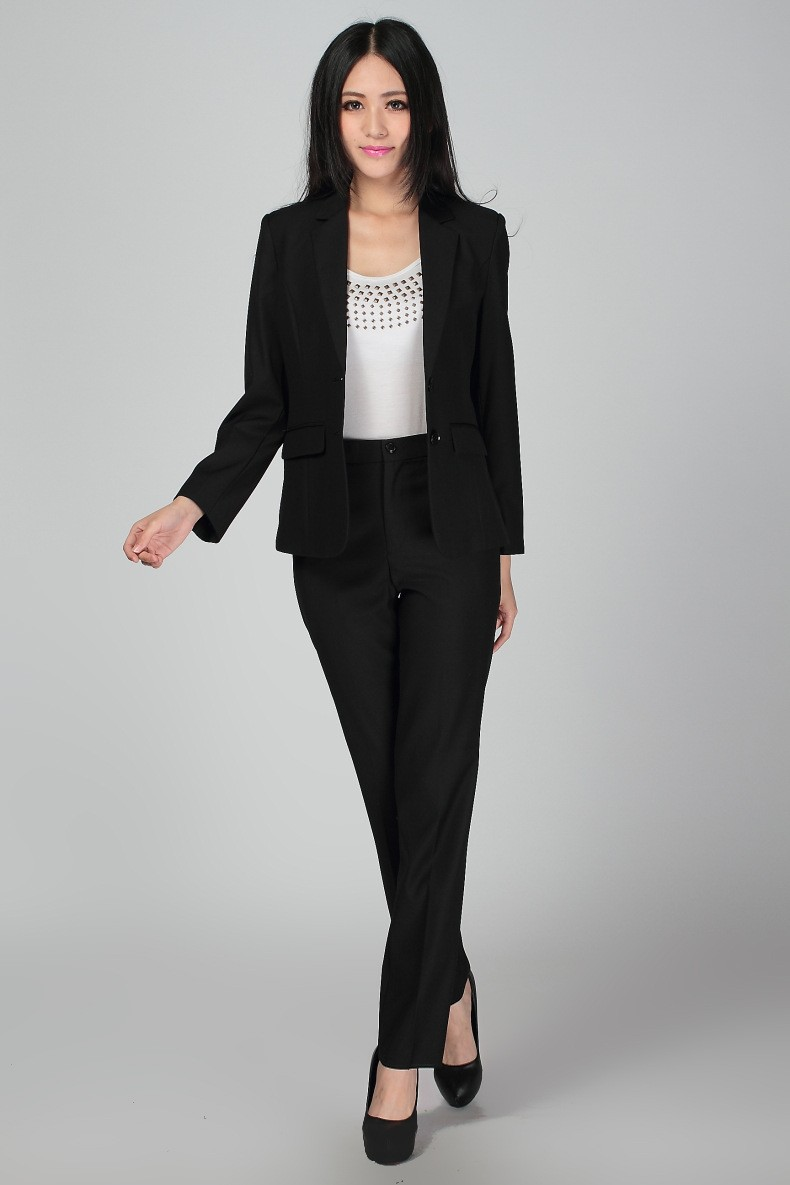 Excellent Ladies Pant Suits For Weddings  Misty Lane 13481 Tuxedo Black 3 Pc