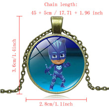 Buy Cartoon PJ MASKS Christmas Necklace Children PJ MASK Necklace Girls Best Gift Anime Kids Action Figures Toys A31 for $1.62 in AliExpress store