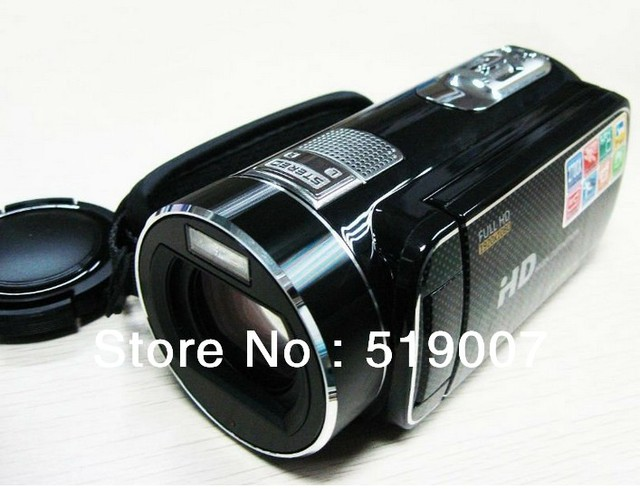 Free shipping for professional 16MP 1080P FULL HD Digital video camera with 23X Optical zoom