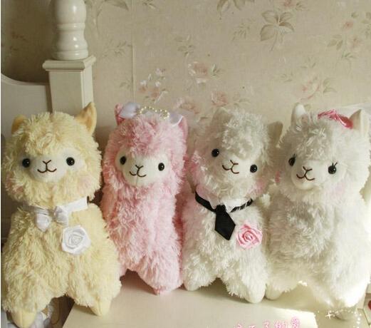 2015 new style Arpakasso alpaca sheep dolls 32cm and 50cm 4pcs/lot   plush toys dolls for child birthday  gift AYX001<br><br>Aliexpress