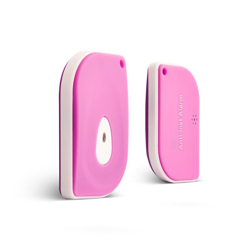 GOESTIME Pink New Mobile Alarm Anti-lost Pet Car Lost Reminder Baby Finder Key Anti-Lost Smart Finder Mobile Phone Smart Tracker(China (Mainland))