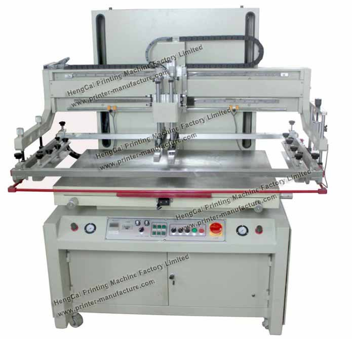 Larger Size Flat Bed Screen Printer Flat Screen Printing Machine(China (Mainland))