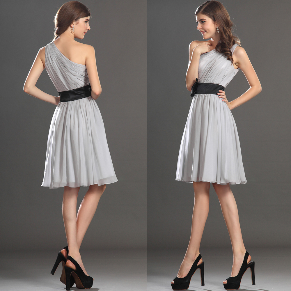 Grey wedding guest dress images for Grey dress wedding guest