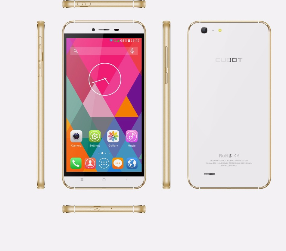 Hot! 5.5 inch IPS HD Screen MTK6592 Octa Core CUBOTX10 phone with RAM 2GB+ROM 16GB support Dual SIM Dual standby Dual cameras(China (Mainland))