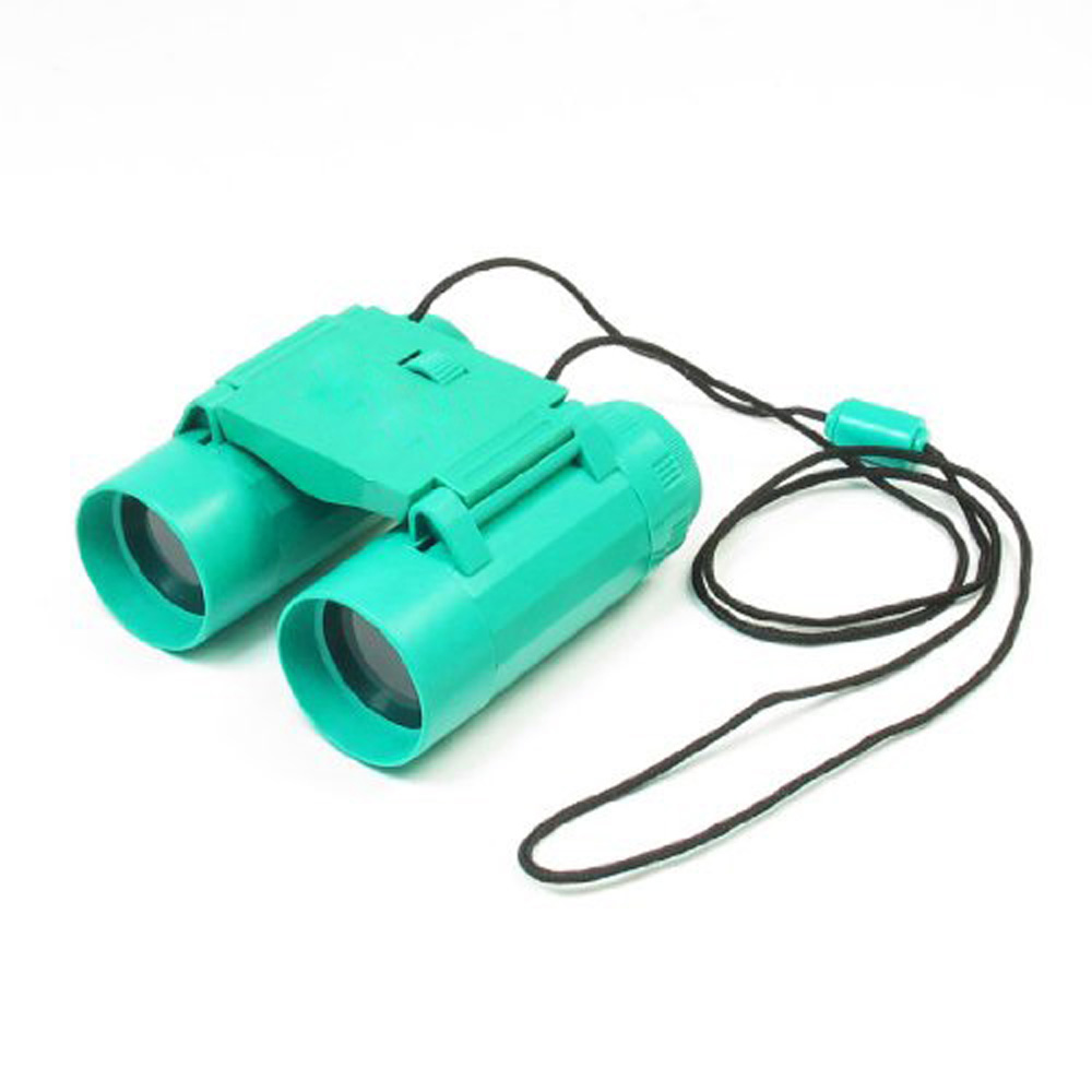 Гаджет  VSEN Child 26mm 2.5X Folding Binoculars Telescope Toy Teal Green w Neck Strap None Изготовление под заказ