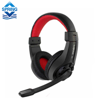 2016 Original G1 Music Super Bass Gaming Headset casque audio Earphone Light Headphone with MIC for Computer Tablet PC