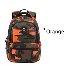 Small Size Fashion Camouflage Kid Backpack Bag School Bags Travel Backpack Bags For Cool Boy And Girl(China (Mainland))