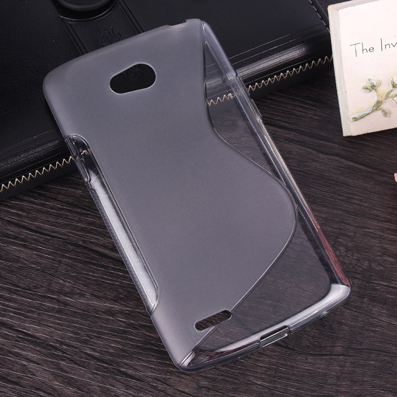 Soft Cell Phone Cases Gel Silicone Protective Cover For LG L80 Dual D380 D385 Phone Case NganSek Original(China (Mainland))
