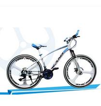 24/26 inch aluminum-speed dual-disc damping Steed three knife integrated wheel mountain bike 27/24/21 speed  road  bike(China (Mainland))