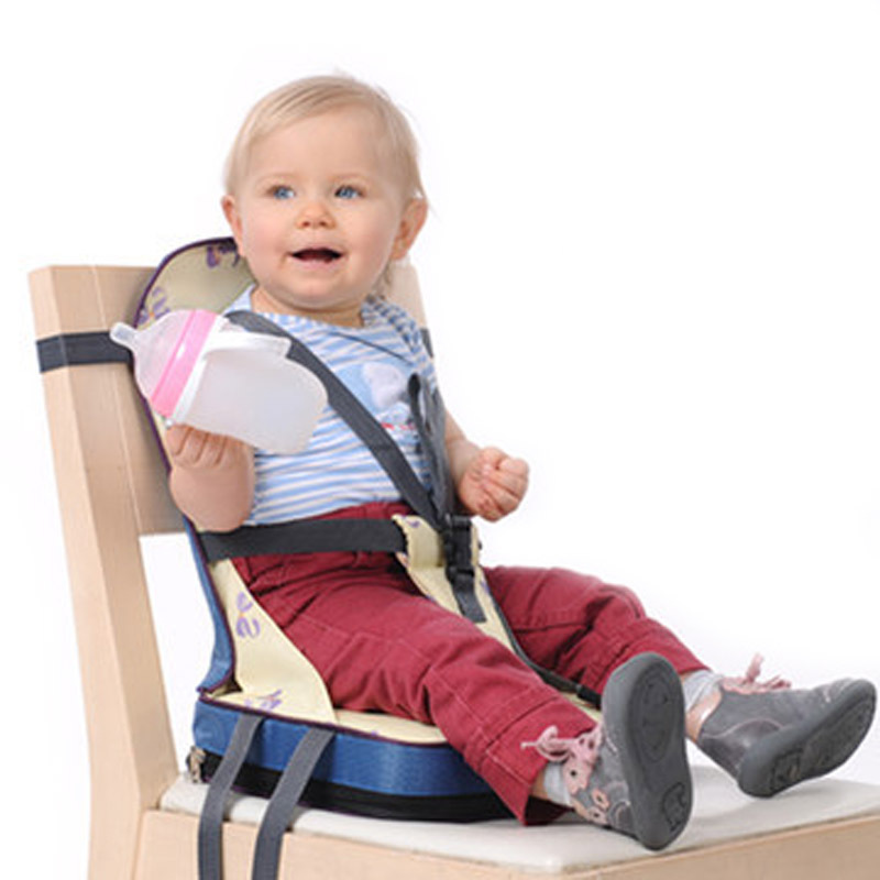 2016 Hot Sale 3 colors Fashion Portable Booster Seats Baby Safty Chair Seat/Portable Travel High Chair Dinner Seat(China (Mainland))