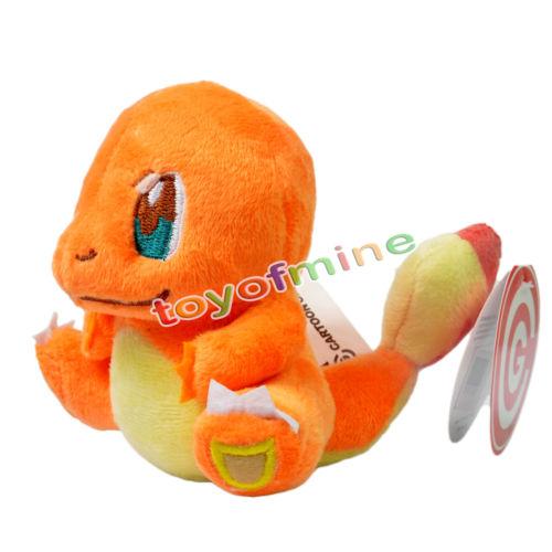 "New 5"" Charmander Pokemon Rare Soft Plush Toy Doll(China (Mainland))"