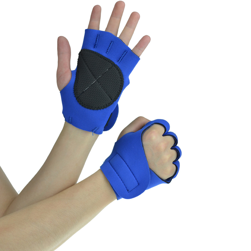Neoprene Weight Lift Training Workout Gym Palm Exercise: Men's Sports Weight Lifting Gloves Fitness Neoprene Gym
