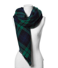 za major Winter 2015 Tartan Scarf Desigual Plaid Scarf cuadros New Designer Unisex Acrylic Basic Shawls Women's big size Scarves(China (Mainland))