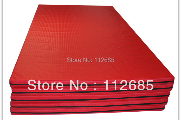 Training type mat judo set compressed sponge 200*100*5cm, red, green. wholesale and retail free shipping<br><br>Aliexpress