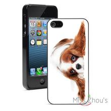 Cavalier Spaniel Puppy Dog Protector back skins mobile cellphone cases for iphone 4/4s 5/5s 5c SE 6/6s plus ipod touch 4/5/6