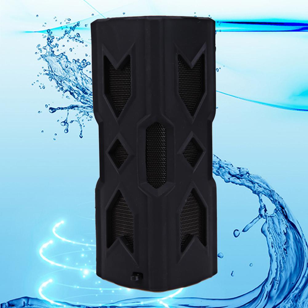 Portable Bluetooth Speaker, Waterproof Wireless Bluetooth Speaker SUPER BASS Speaker For Smartphone Tablets PCs