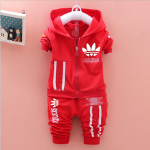 2015 new fashion brand Spring Autumn boys / girls Sport suit set children hoodies + pants clothes sets kids 2 pcs clothing set(China (Mainland))