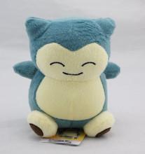 Pokemon Plush Toys 15cm Kawaii Totoro Pokemon Snorlax Plush Soft Stuffed Animal Doll Kids Toys Pikachu(China (Mainland))