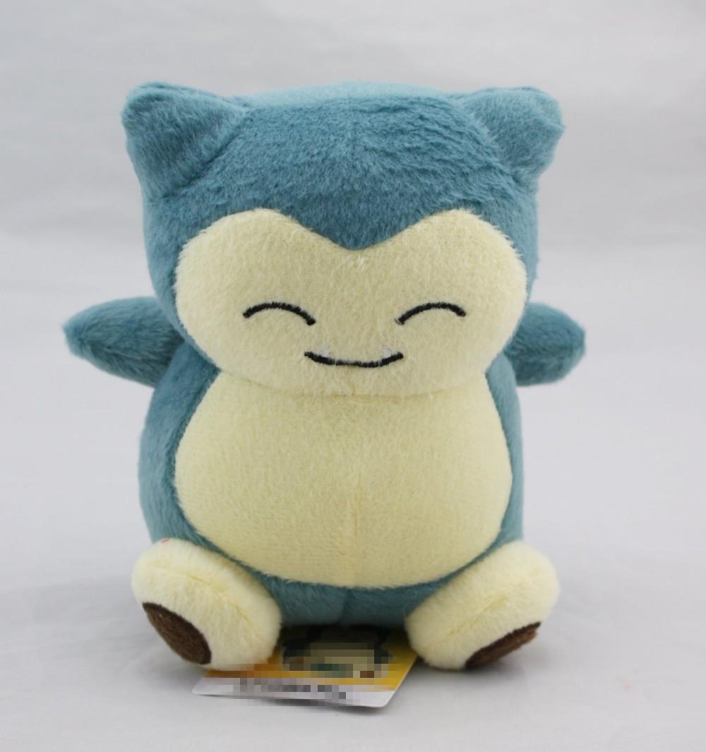 Brinquedos De Pelúcia Pokemon 15 cm Totoro Kawaii Pokemon Snorlax Macio Bicho de pelúcia Boneca Brinquedos para Crianças Venda Quente(China (Mainland))