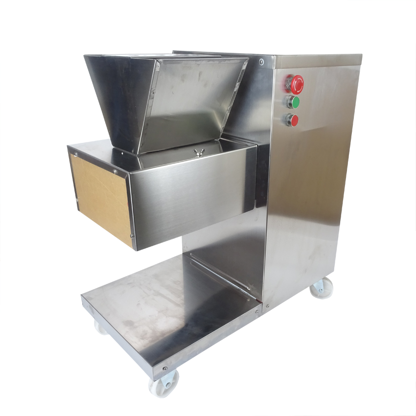 Free shipping by DHL 110/220/380v QW meat cutting machine, meat slicer, meat cutter, 800kg/hr meat processing machine(China (Mainland))