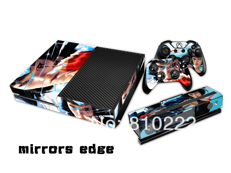 Protective vinyl decal skin stickers wrap for xbox one for Mirror xbox one