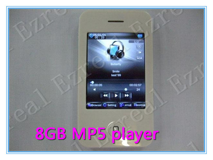 MP4-плеер New 2,8 MP3 Playe MP4 FM , 4GB MP5 15pcs\lot mp4 mp5 player mp3 плеер mpio mg100 4gb кабель