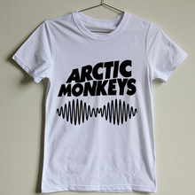 2015 New Fashion Of The Arctic Monkeys T Shirt Funny Indie Rock Band 100 Cotton Printed